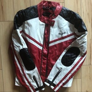Playboy faux leather jacket